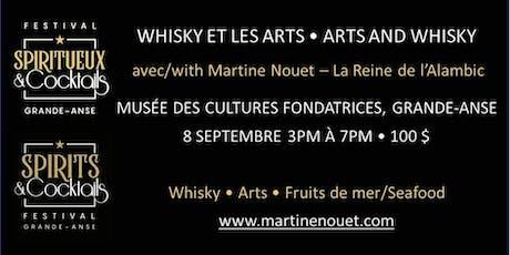Whisky et les arts avec la Reine de l'Alambic  Mme Martine Nouet billets