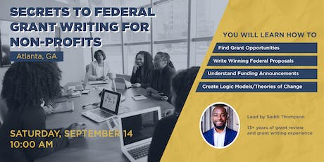Secrets To Federal Grant Writing for Non-profits tickets