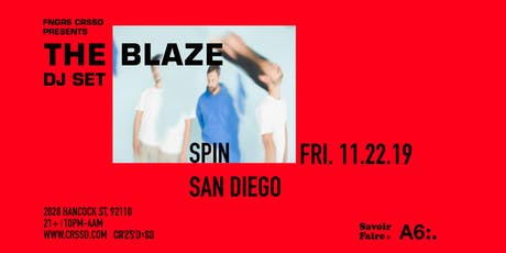 THE BLAZE (DJ SET) tickets