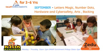 SEPTEMBER  Daily, Weekly SMART Enrichments for 3-6 Yrs