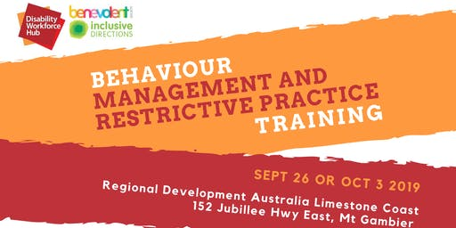 Behaviour Support and Restrictive Practice Training