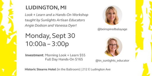 Full Day Hands on Sunlights Balayage with Angie Dodson and Vanessa Dyer