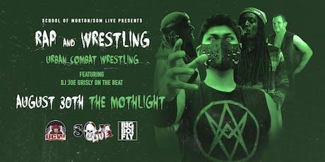 Urban Combat Wrestling - Rap & Wrestling tickets