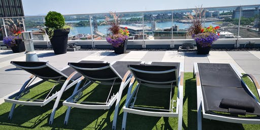 MTL Rooftop BBQ & Pool Party - Old Port (Games, Musique, Drinks. 18+)