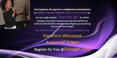 Flo Logan Listening Party-Halifax Virginia