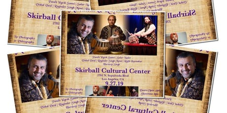 An Unprecedented Night of Melodious & Rhythmic Exchange tickets