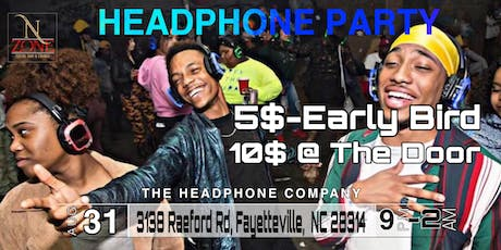 Silent Headphone Party-Fayettville, NC (Labor Day Weekend Edition) tickets