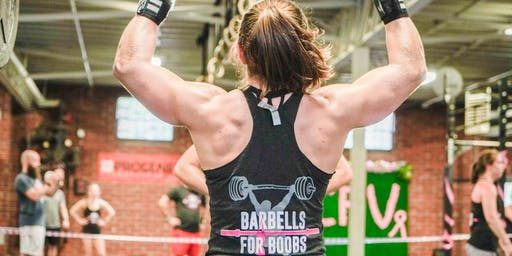 CrossFit Versatile's Fifth Annual Barbells for Boobs