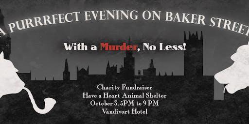 Murder mystery dinner charity fundraiser