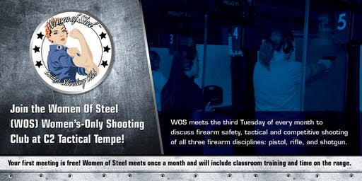 Women of Steel - Women's Only Shooting Club Meeting - August