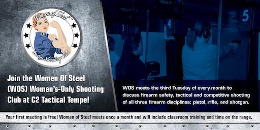 Women of Steel - Women's Only Shooting Club Meeting - August