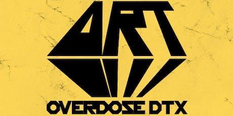 Art Overdose DTX tickets