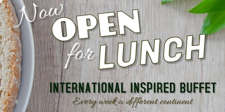 International Themed Buffet Lunch  tickets