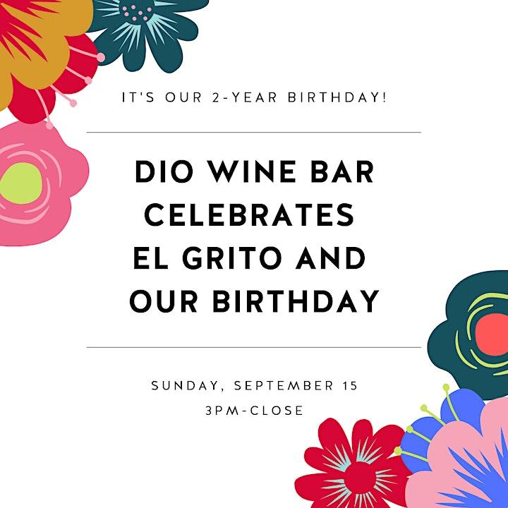 El Grito and 2-Year Birthday image