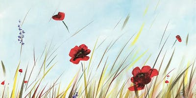 Poppy Field Brush Party - Milford