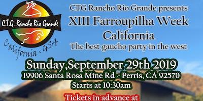 XIII Farroupilha Week from California - 13a Semana Farroupilha California