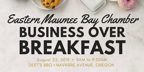 August 2019 Business Over Breakfast  tickets