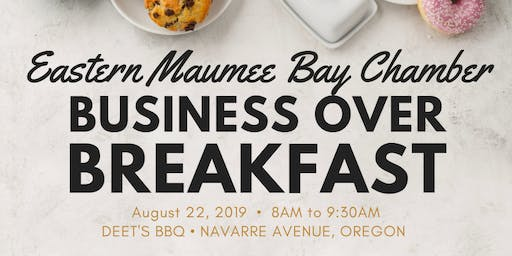 August 2019 Business Over Breakfast