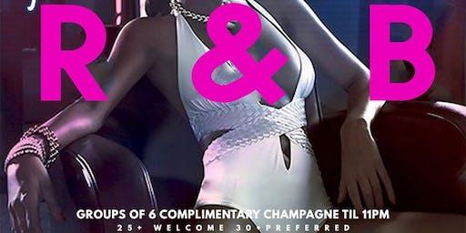 R&B Saturdays 30&up Crowd Preferred and Ladies Free Till Midnight!