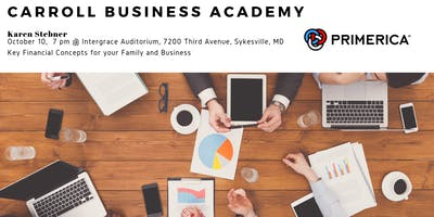 Carroll Business Academy - Key Financial Concepts for your Family and Business