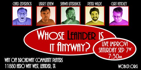 """Whose Leander Is It Anyway?"" tickets"