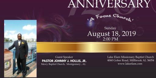 Lake Elam MB Church 128th Church Anniversary Celebration