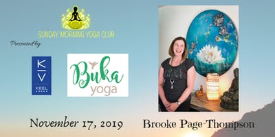 SMYC 11/17 at Buka Yoga!  Brooke Page-Thompson is Teaching!