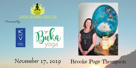 SMYC 11/17 at Buka Yoga!  Brooke Page-Thompson is Teaching!  tickets