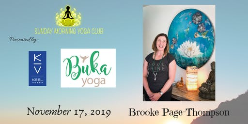 SMYC 11/17 at Buka Yoga!  Brooke Page-Thompson is Teaching!