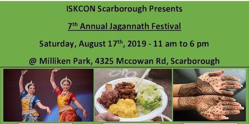 ISKCON Scarborough's 7th Annual Jagannath Festival