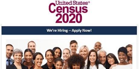 US Census 2020  Recruitment Event w/Recruiter Jacqueline Cossier tickets