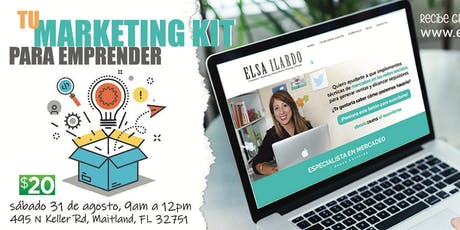 Tu Marketing Kit para Emprender tickets