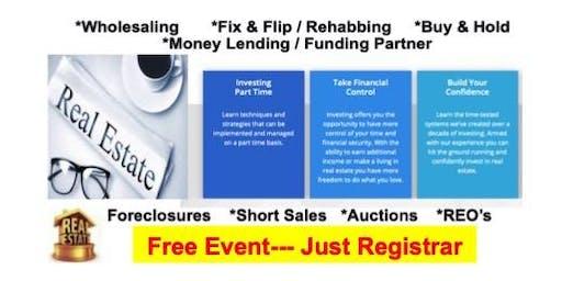 Free Live Real Estate Investment Workshop (Annandale, VA)
