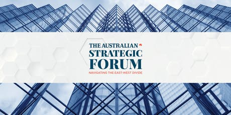 The Australian's Strategic Forum tickets