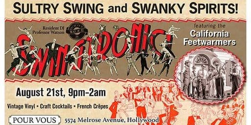 California Feetwarmers at Swingtronic!