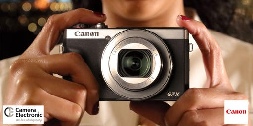 Launch of G7X-III with Vlogger Andrew Marr