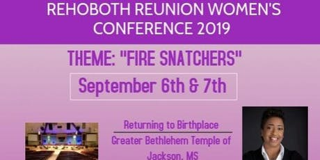 Rehoboth Reunion Women's Conference tickets