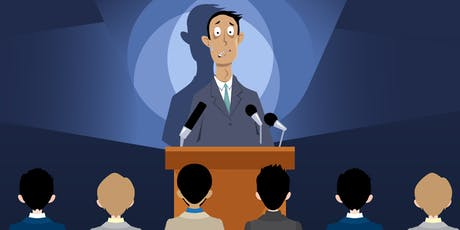 CRUSH YOUR FEAR OF PUBLIC SPEAKING tickets