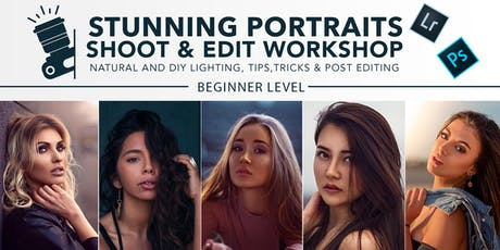Stunning Portraits Shoot & Edit Creative Workshop in Melbourne! tickets