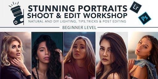Stunning Portraits Shoot & Edit Creative Workshop in Melbourne!