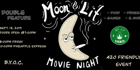 Moon Lit Movie Night: Double Feature tickets