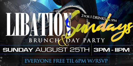 Libation brunch  tickets