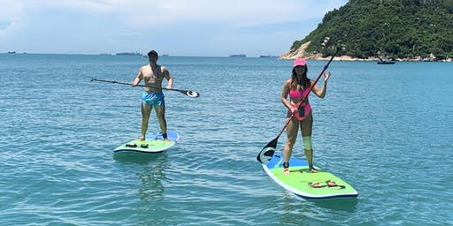 Stand Up Paddle Lesson in Stanley Bay - Beginners Welcome