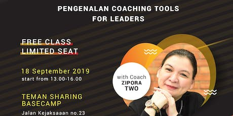 Pengenalan Coaching Tools for Leaders tickets