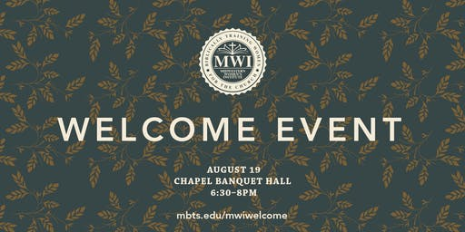 MWI Welcome Event