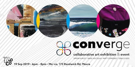 Converge - Collaborative art exhibition & event tickets