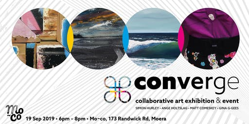 Converge - Collaborative art exhibition & event