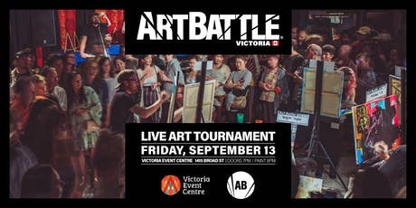Art Battle Victoria - September 13, 2019 tickets
