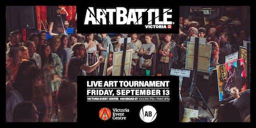 Art Battle Victoria - September 13, 2019