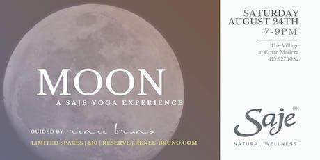 MOON a Saje Yoga Experience tickets